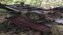 Tirebolu'da patpat kazası 1 kişi hayatını kaybetti