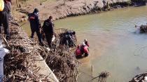 Dereye uçan aracın kayıp sürücüsünün cansız bedeni bulundu