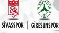 Demir Grup Sivasspor- Giresunspor