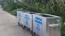 Çöp konteynırları temizlendi