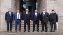 Doğu Karadeniz Belediyeler Birliğinden Şenlikoğlu'na ziyaret